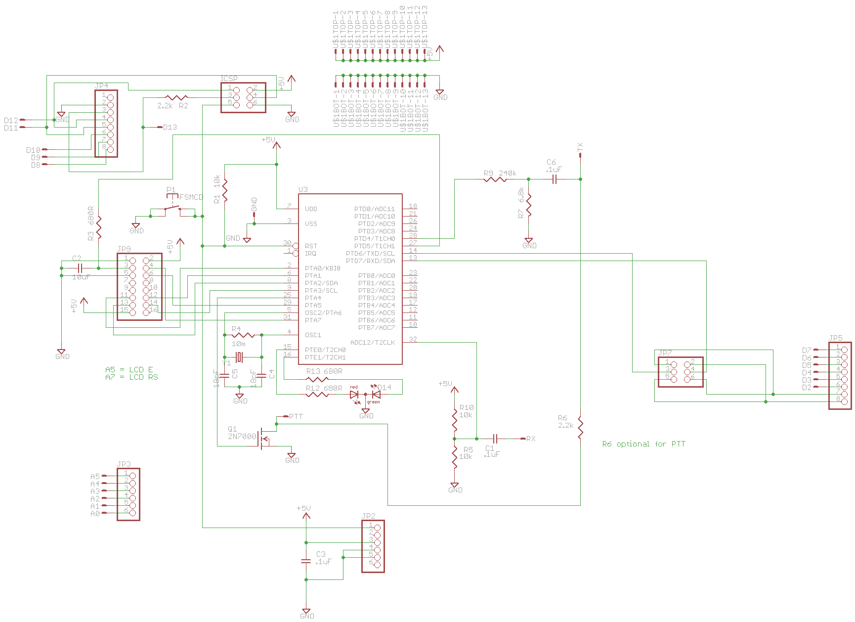 Archive further Index php further Project Arduino Aprs Board besides 81fg01 moreover 399. on arduino lcd shield schematic